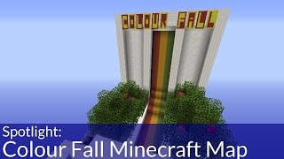 Spotlight: Colour Fall Minecraft Minigame Map