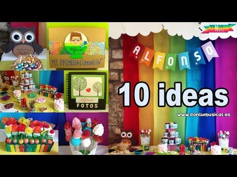 10 ideas para decorar tu fiesta con mesa de chuches o mesa dulce