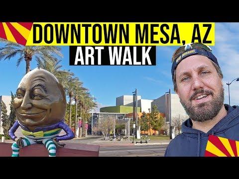 Mesa, Arizona Tour: Downtown Art Walk & Sculpture Tour (Things To Do In Arizona)
