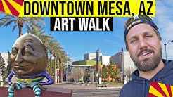 Mesa, Arizona Tour: Downtown Art Walk & Sculpture Tour (Things To Do In Arizona)