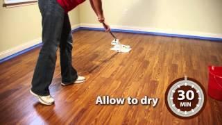 Rust-Oleum Wood FloorTransformations - Application Video