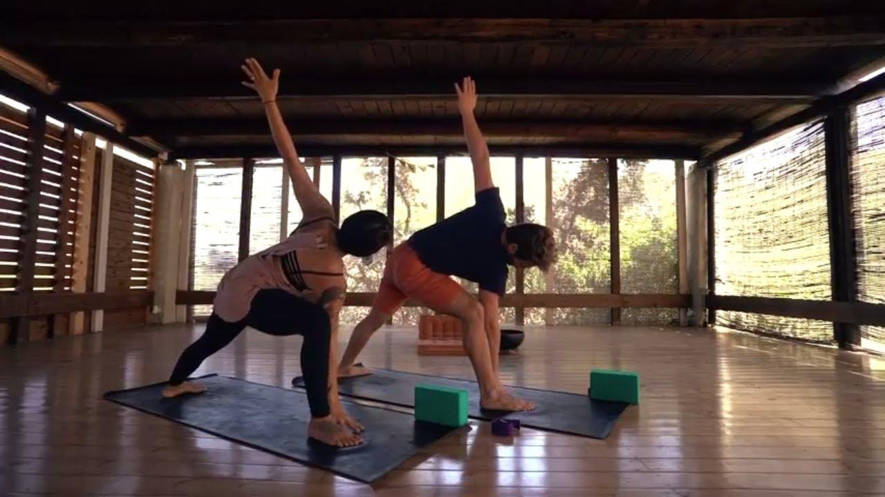 Hatha Yoga Flow: All Levels Yoga Class: Paros, Greece