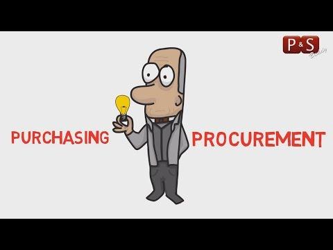 intro to procurement