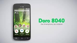 Produktvideo zu Smartphone für Senioren Doro 8040 Graphit