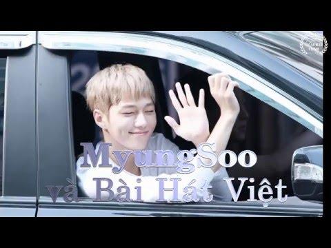 Kim Myung Soo và Bài hát Việt