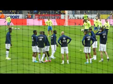 Kylian Mbappé ● N'Golo Kanté ● Alexandre Lacazette ● Ousmane Dembélé ● Suède vs France 2017