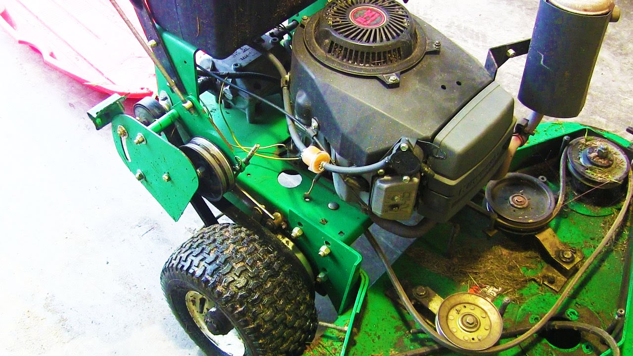 48 quot Lesco Walk Behind Lawn Mower YouTube