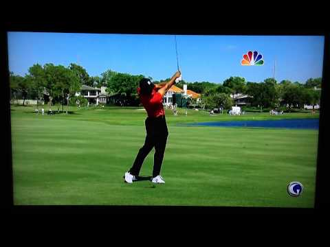 Tiger Woods 267 Yard 3-iron @ Bay Hill 2012