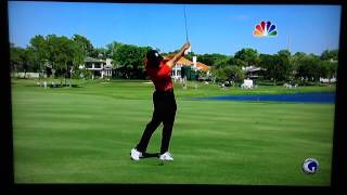 tiger woods 267 yard 3 iron bay hill 2012