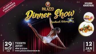 Die Palazzo-Dinnershow in der Spielbank Hohensyburg 2019/20