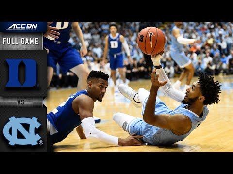 Duke Vs. North Carolina Full Game | 2019-20 ACC Men's Basketball