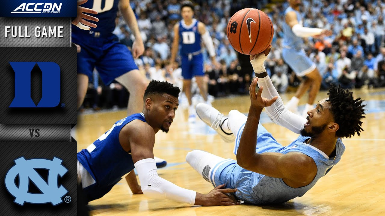 Download Duke vs. North Carolina Full Game | 2019-20 ACC Men's Basketball