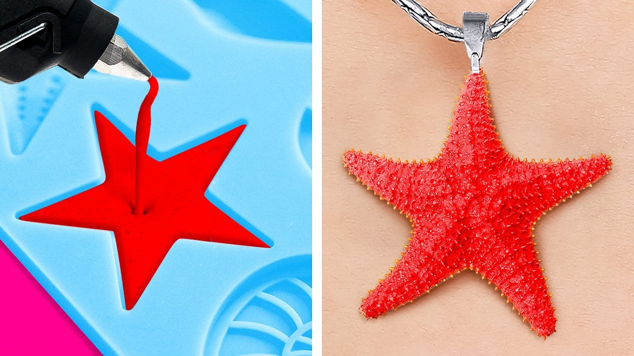 Download Colorful Glue Gun DIYs And 3D-Pen Crafts || DIY Jewelry, Mini Crafts And Repair Tips