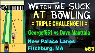 Watch Me Suck at Bowling TRIPLE CHALLENGE REMATCH!! (Ep #83) G…