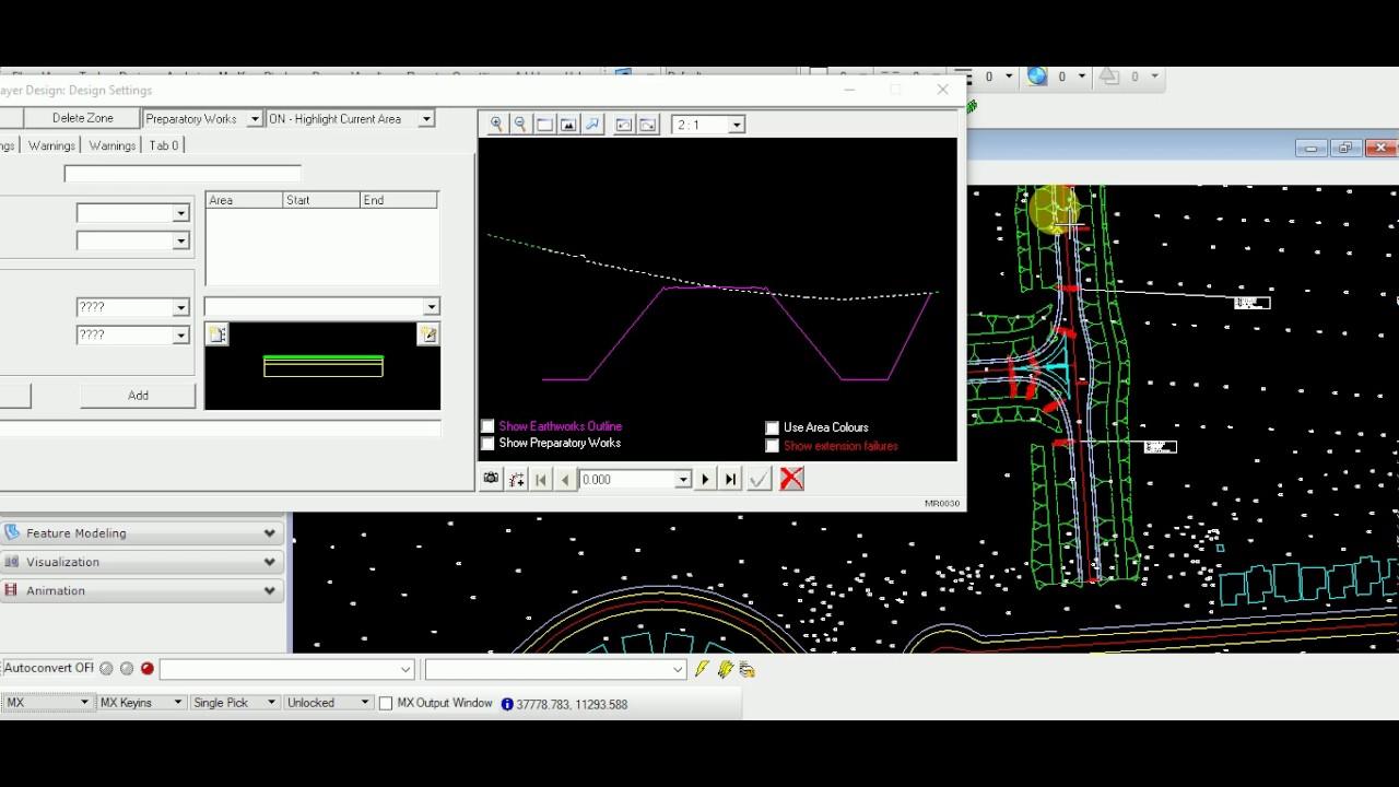 MX Road Pavement & Subgrade layer design best tutorial