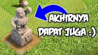 Inilah Cara Gampang Mendapatkan Patung Builder COC / Builder Statue - Clash Of Clans Indonesia
