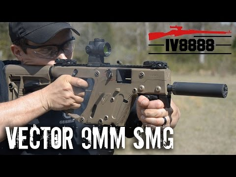 Kriss Vector 9mm SMG FULL AUTO!