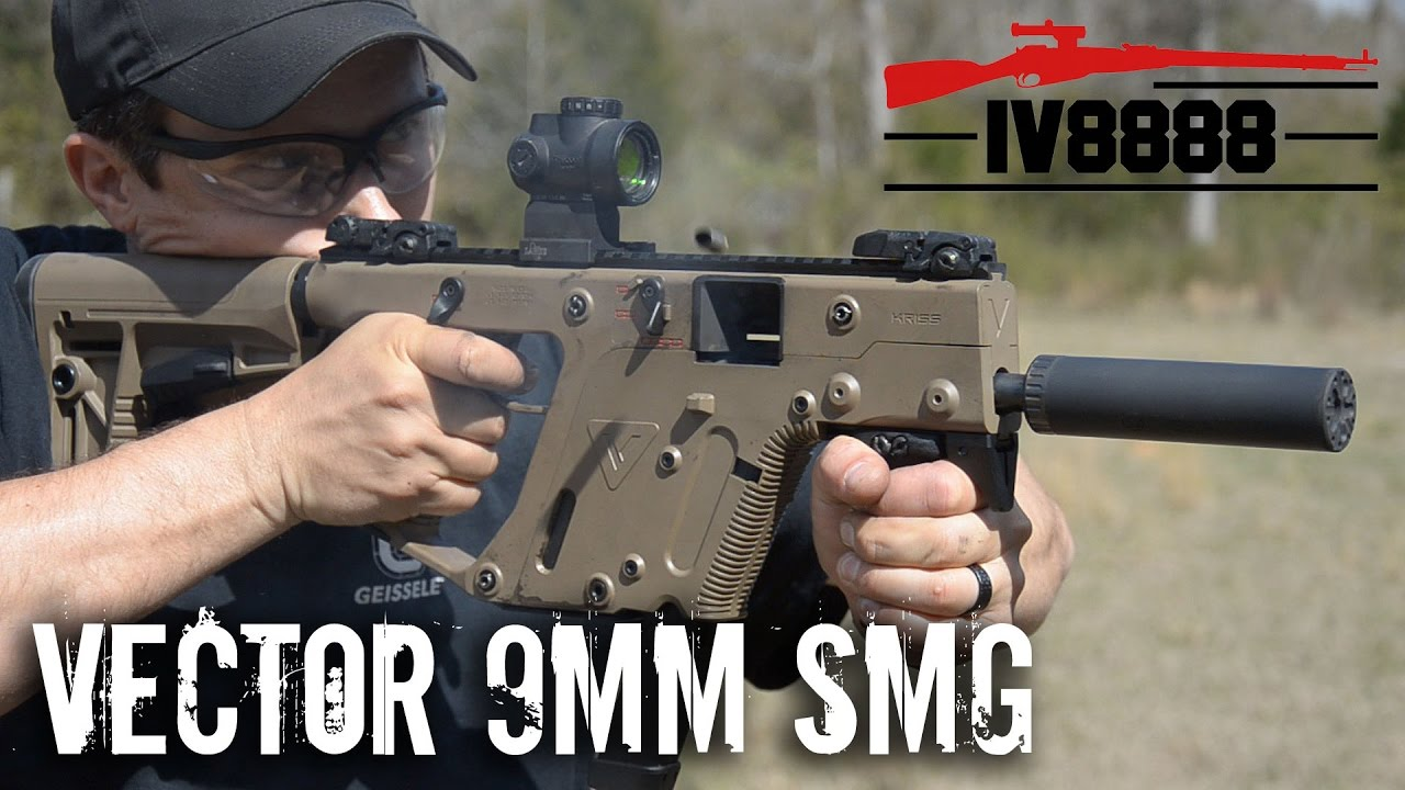 Kriss Vector 9mm Smg Full Auto Youtube