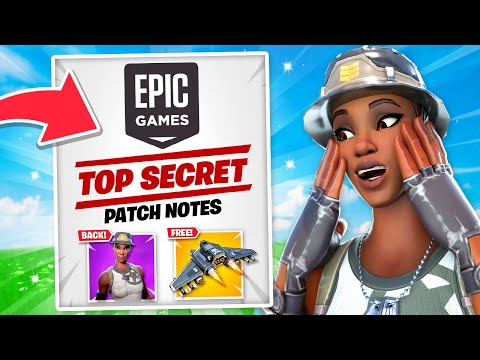 ALL *SECRET* Changes In NEW Fortnite Update! (FREE Gifts, Recon Expert + EVENT Info)
