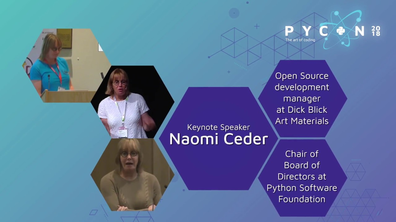 Image from Naomi Ceder - PyCon Colombia 2018