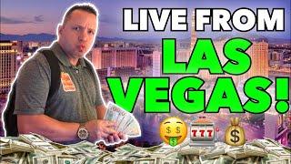 🚨LIVE Slots!  Dan breaks the bank at The Cosmopolitan Las Vegas!