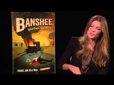 Ivana Miličević talks to TODAY about 'Banshee'