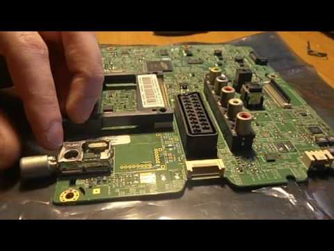 Antenna Soldering Samsung Led Tv Youtube