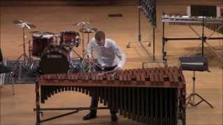Marimba Solo - Velocities by Joseph Schwantner