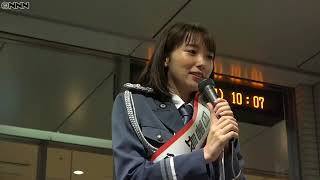 "Marie Iitomi ""My parents were surprised"" One day police chief 女優..."