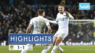 Highlights | Leeds United 1-1 Preston North End | 2019/20 EFL Championship