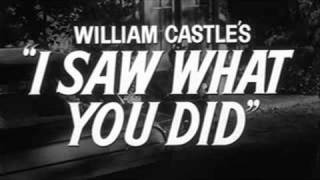 I Saw What You Did (1965) Trailer