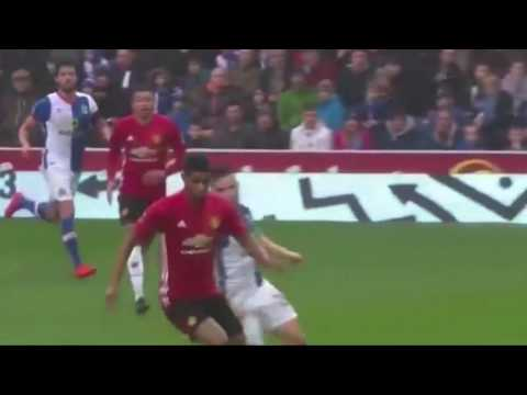 Highlights Manchester United vs Blackburn Rovers 2 - 1