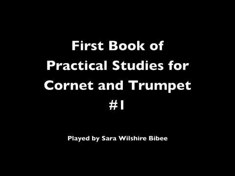 Getchell and Hovey First Book of Practical Studies for Cornet and Trumpet #1