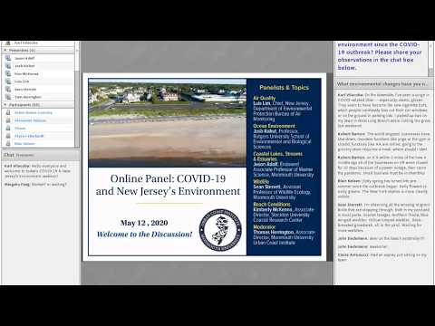 Panel: COVID-19 & New Jersey's Environment