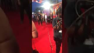 on red carpet in Ptc Punjabi film awards