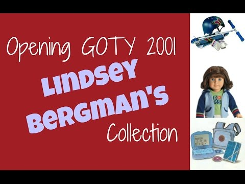 Opening American Girl GOTY 2001 Lindsey Bergman's Collection!