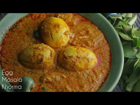 Egg Khorma|With Spicy Thick Gravy|గుడ్డు మసాలా కుర్మా|ఈ కుర్మా గ్రేవీ చిక్కగా భలేగా ఉంటుంది