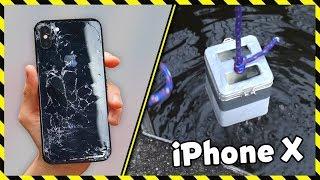 EXTRÉMNÍ TEST iPHONU X!
