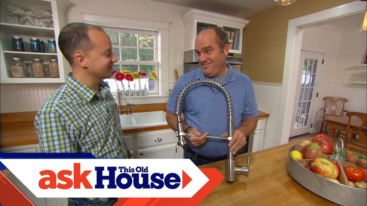 How To Install An Industrial Kitchen Faucet Youtube