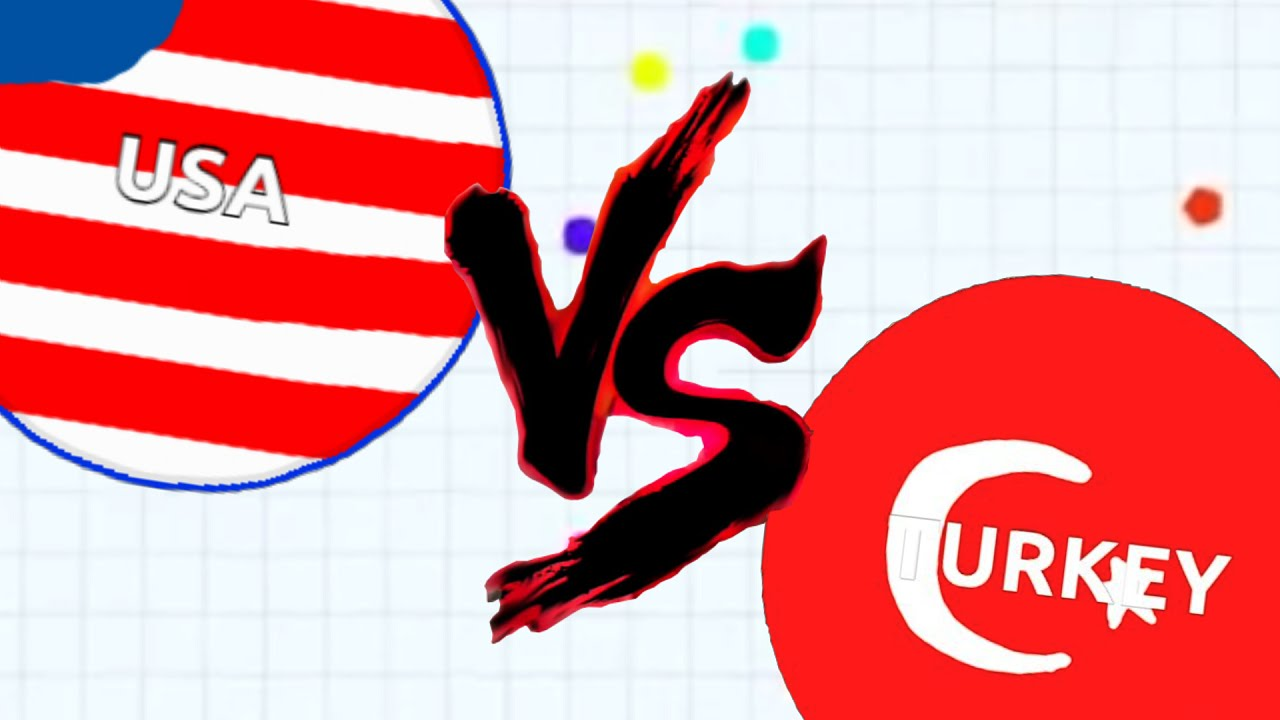 Agario USA VS TURKEY! | Agar.io CRAZY LEADERBOARD TEAM ...