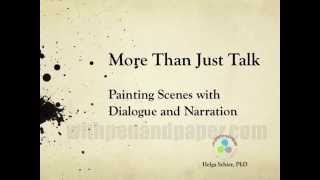 More than Just Talk:  Painting a Scene with Dialogue and Narration - PREVIEW
