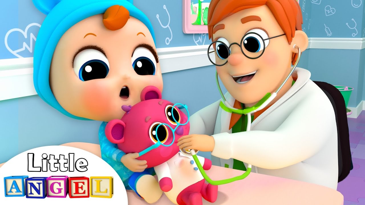 Doctor Checkup Song | Nursery Rhymes and Kids Songs by Little Angel