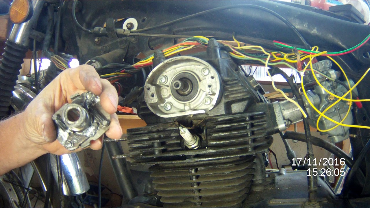 1973 Honda CL175 Electronic Ignition install