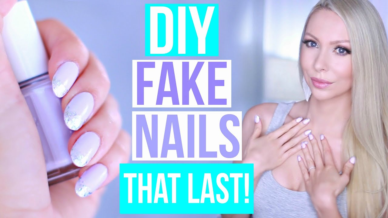 Diy easy fake nails that last three weeks no acrylic youtube solutioingenieria Image collections
