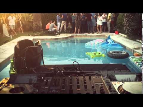 Auxiliary tha Masterfader DJ set pool Party in Cannes June 19th