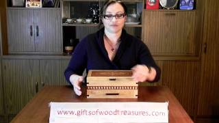 Gifts Of Wood Treasures Jewelry Box Review