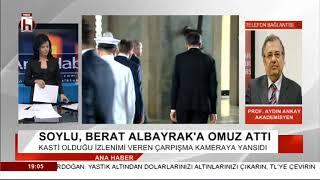 SOYLU  BERAT ALBAYRAK'A  OMUZ ATTI  /       AYDIN ANKAY