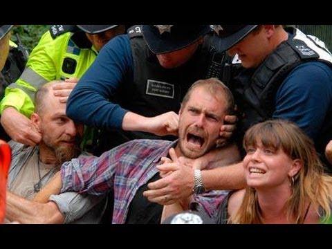 Exclusive: Frances Crack Arrested, Anti-Fracking Balcombe