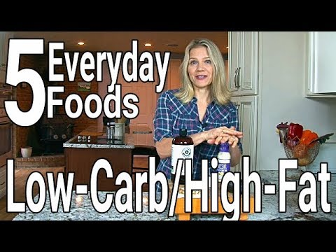 5-low-carb,-high-fat-foods-to-eat-every-day