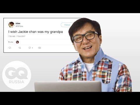 Джеки Чан отвечает на вопросы о себе в соцсетях
